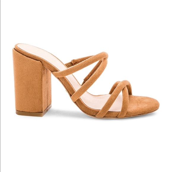raye shoes | the label caia heels in dark tan 65 | poshmark